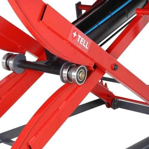 Elevador Rampa Pneumatico P/ Motos Vermelho TELL-400 - Krebs