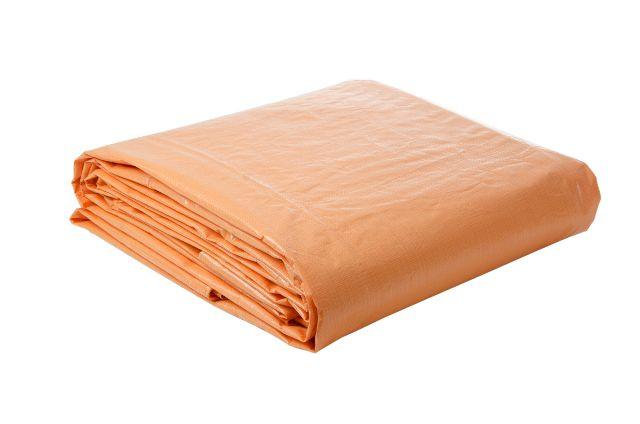 Encerado Plástico Laranja 8x9 - LONA FORTE