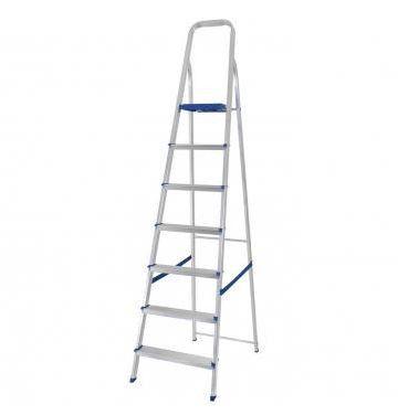 Escada De Aluminio 7 Degraus Doméstica - MOR