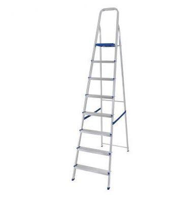 Escada De Aluminio 8 Degraus Doméstica - MOR