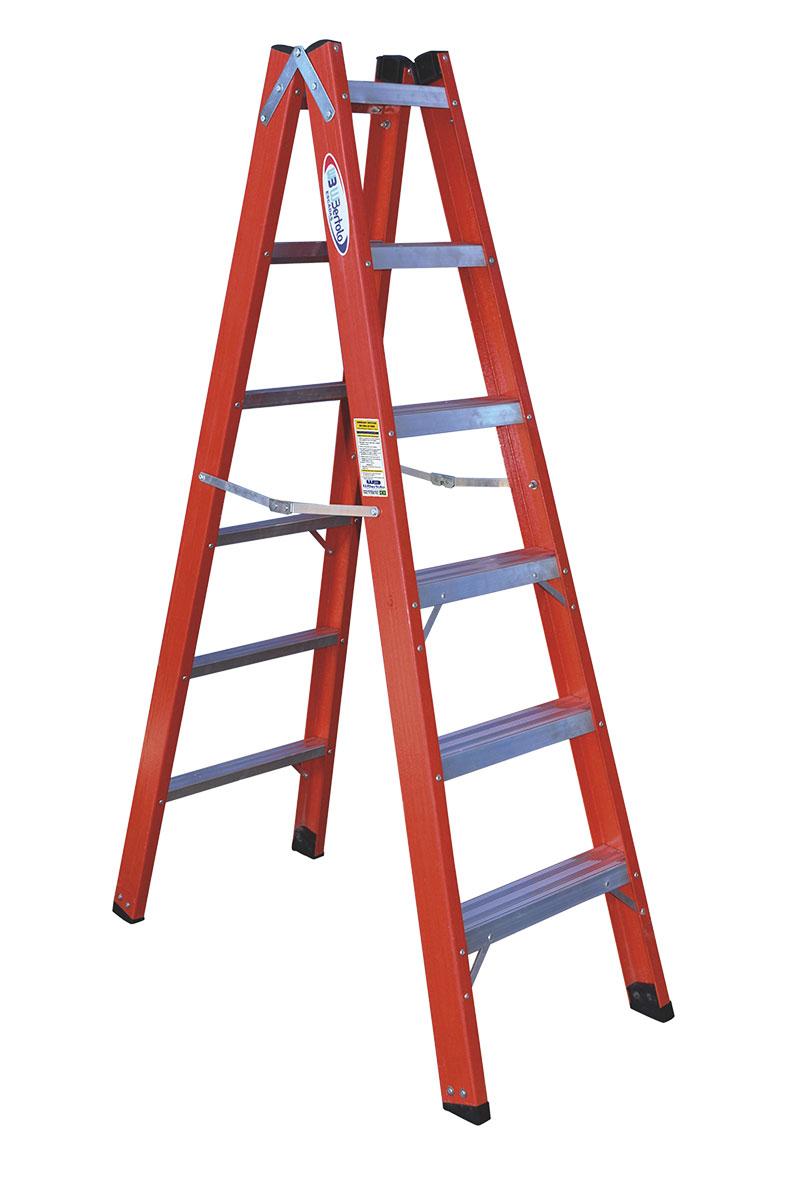Escada de Fibra Pintor Dupla TAFD5 5DG Bertolo