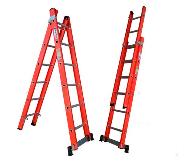 Escada de Fibra tipo Tesoura 1,90 X 3,20 6D TEAF6X10 WBertolo