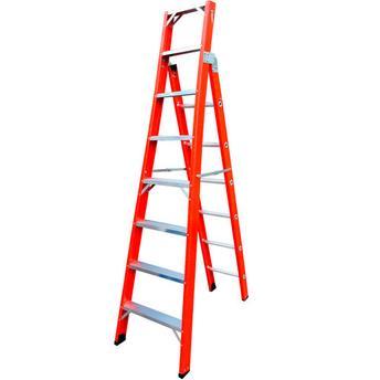 Escada De Fibra Tipo Tesoura E Sing.16DG TSH-8 - COGUMELO