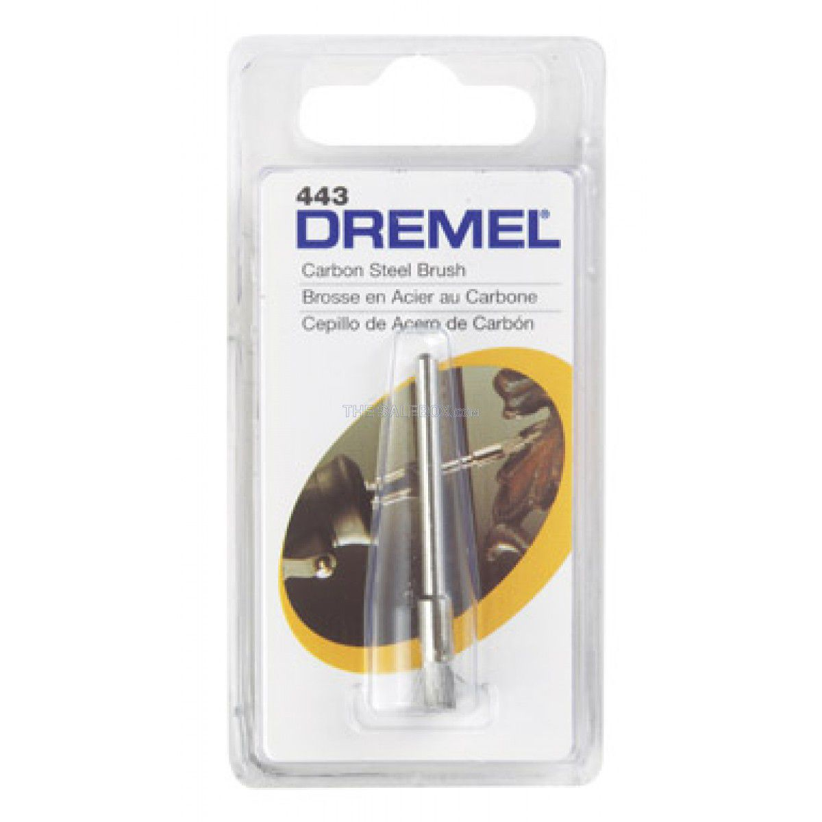 Escova de Aço tipo Pincel 1/8'' 443 - DREMEL