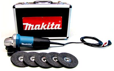 "Esmerilhadeira Angular 4.1/2"" 840W 9557 HPGX2 220V - MAKITA"