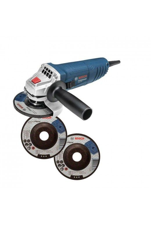 Esmerilhadeira GWS 850 127v M14 + 3 Discos 06013775E8 – Bosch