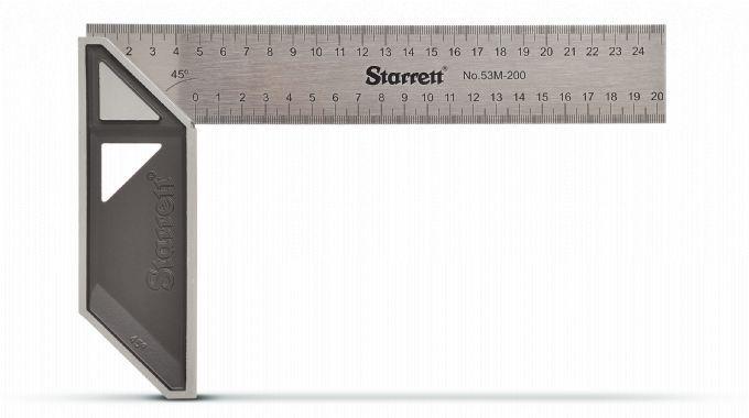 Esquadro Carpinteiro Em Aço Inox 200mm K53M200S - STARRETT