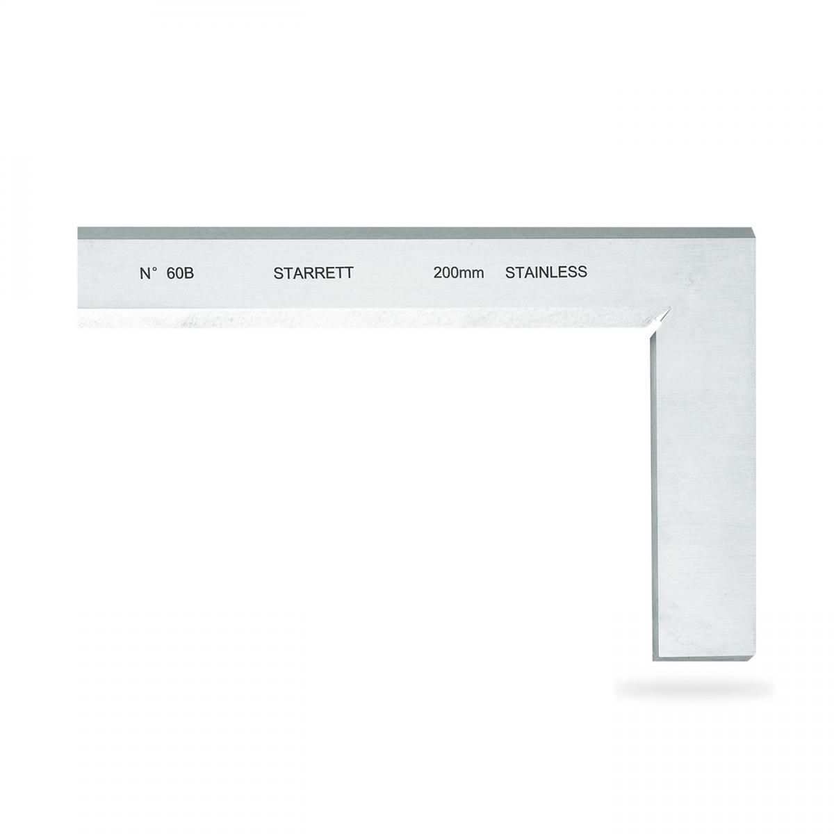 Esquadro Inox 100 X 70mm C/Fio 60B-100 - Starrett