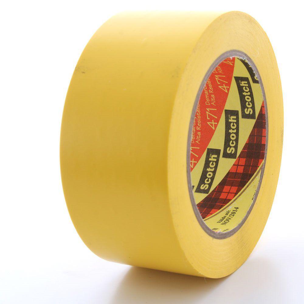 Fita Adesiva Amarela 469 50mm x 30mt - 3M