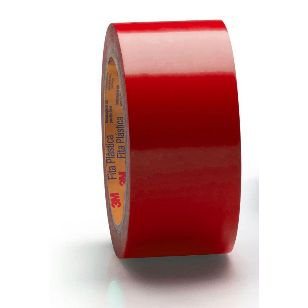 Fita Adesiva Vermelha 469 50mm x 30m - 3M