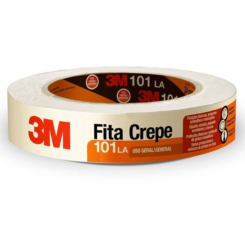 Fita Crepe 101LA 18MM X 50M HB004415608 - 3M