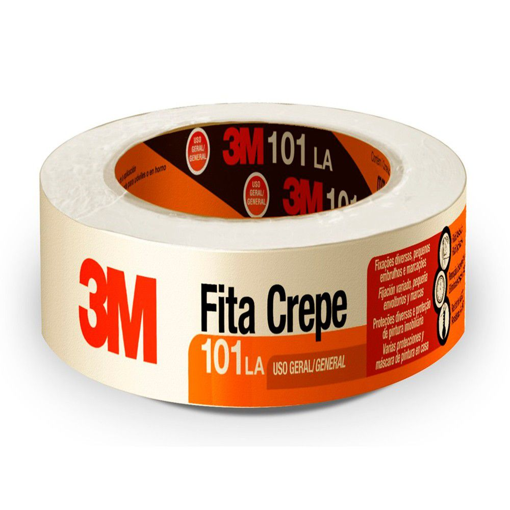 Fita Crepe 48mm x 50m 101LA HB004415582 - 3M