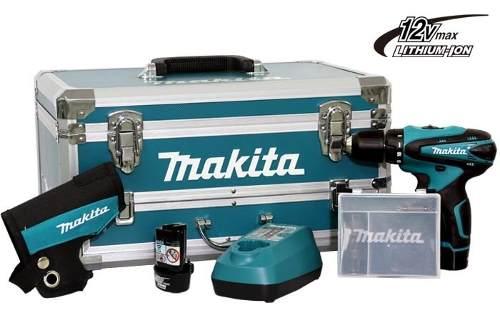 Furadeira / Parafusadeira a Bateria 12V DF 330 DWEX3 c/ Kit de Ferramentas - MAKITA