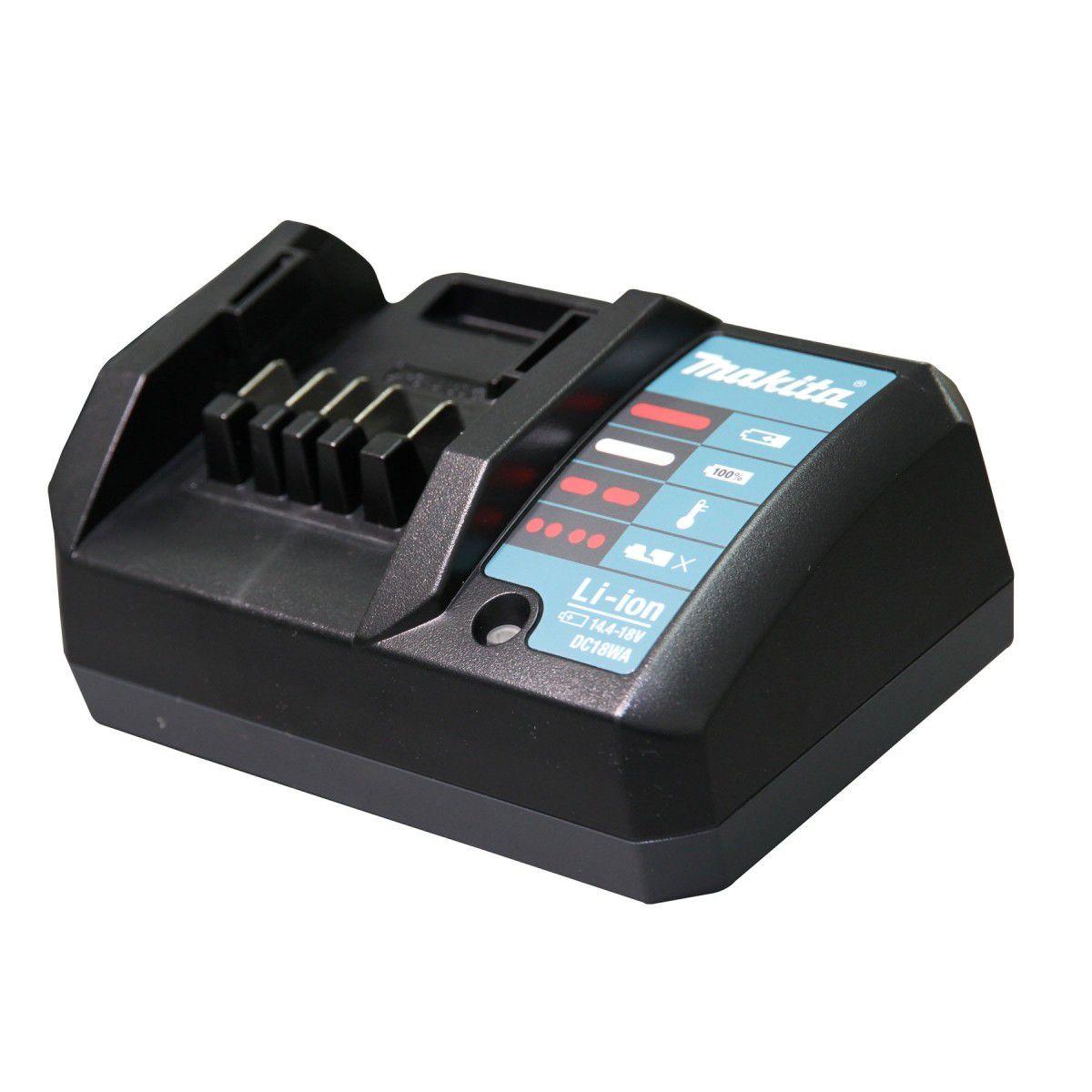 Furadeira / Parafusadeira de Impacto a Bateria 18V HP 457 DWEX 4 Bivolt - MAKITA