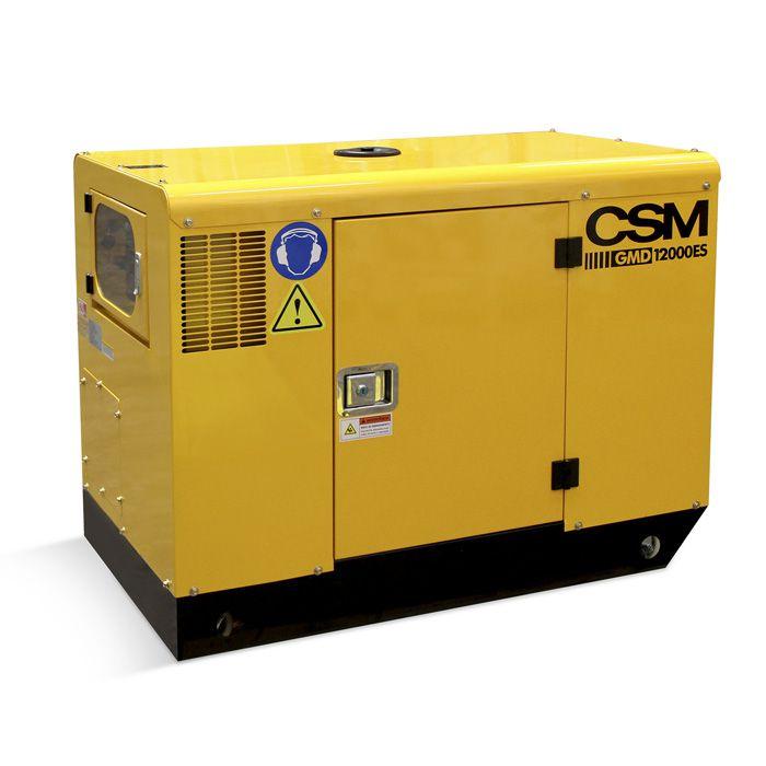 Gerador a Diesel 10kva Mono 110/220v Part Eletr. GMD12000ES – CSM