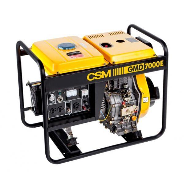 Gerador de Energia a Diesel 5,5 KVA GMD 7000 E 110 / 220V - CSM