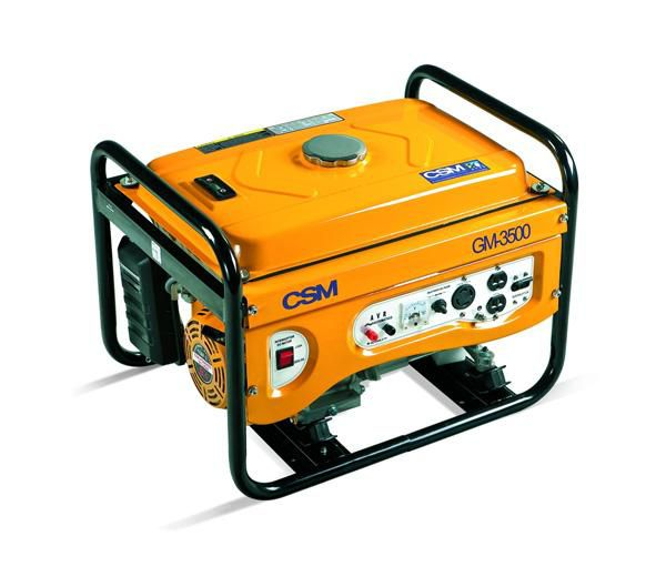 Gerador de Energia a Gasolina 3,5 KVA GM 3500 110/220V - CSM