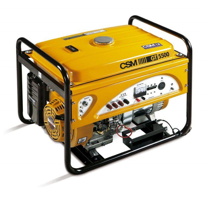 Gerador de Energia a Gasolina 5,5 KV GT 5500 Trifásico 220V - CSM