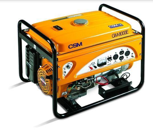Gerador de Energia a Gasolina 8,5 KVA GM 8000 E 110/220V - CSM