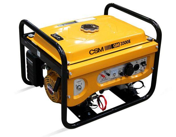 Gerador de Energia á Gasolina Portátil Mono GM3500E - CSM