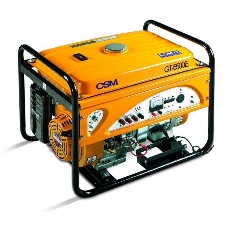 Gerador de Energia à Gasolina Trifásico GT5500E - CSM