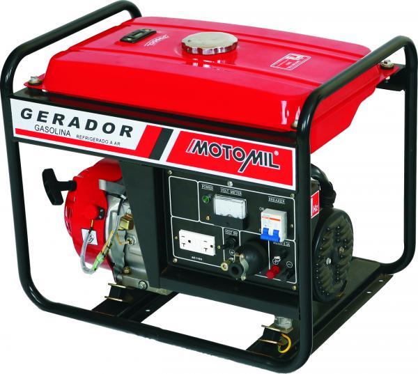 Gerador De Energia Gasolina 2,5 Kva Monofásico MG3000CLE - Motomil