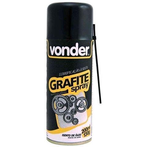 Grafite Spray Lubrificação A Seco - Vonder