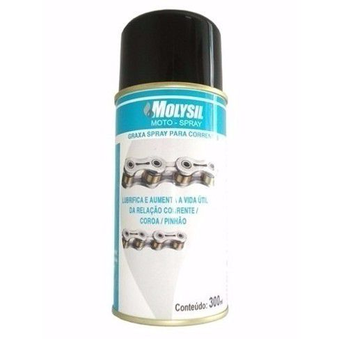 Graxa Liquida Spray 300ml  P-07501 - Molysil