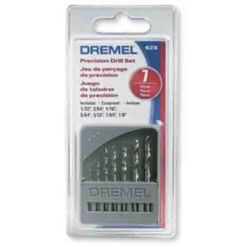 Jogo de Brocas 0,8 a 3,2mm 628 - DREMEL