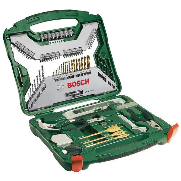 Jogo De Brocas e Pontas X-Line 103 Pçs - Bosch