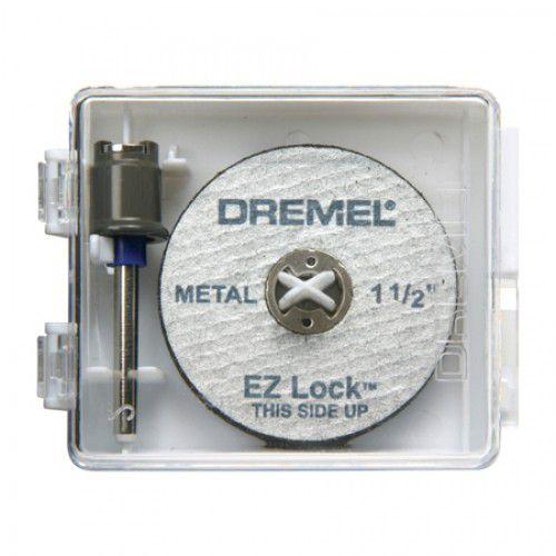 Kit 1 Mandril e 5 Discos EZ406 - DREMEL