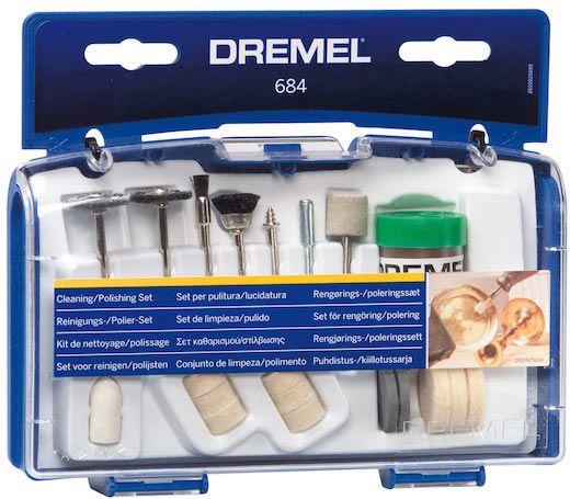 Kit de Acessórios para Limpar e Polir 684 c/ 20 Peças - DREMEL