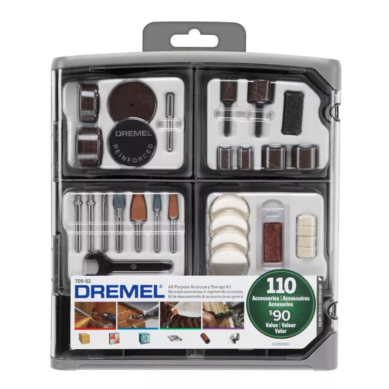 Kit de Acessórios Para Uso Geral c/ 110 Peças 709 - DREMEL