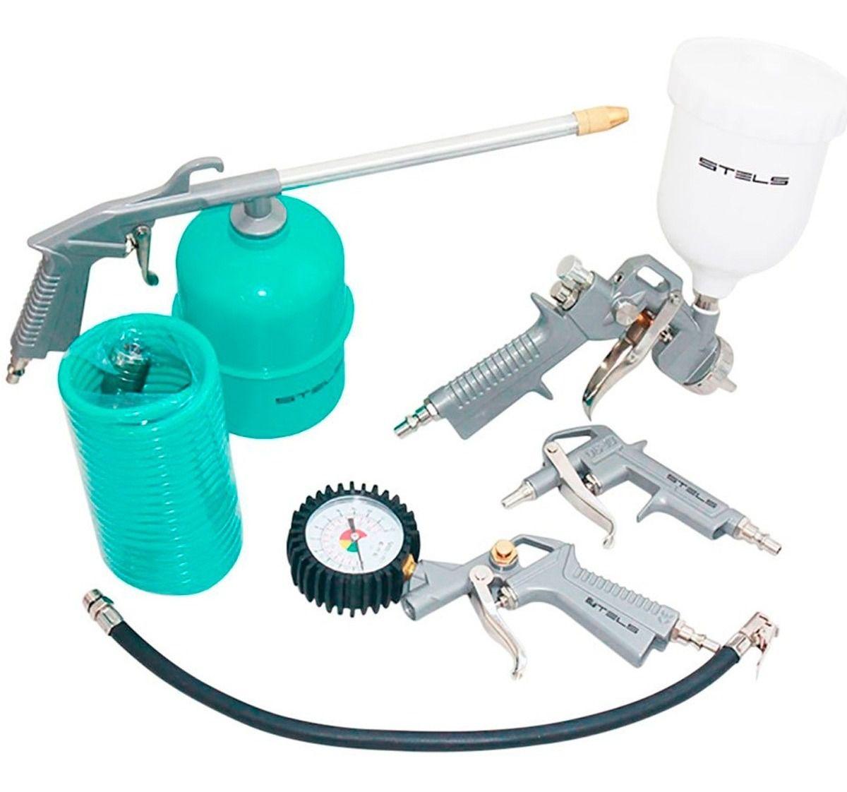KIT Compressor de Ar C/ 5 unidades 5730455 Stels