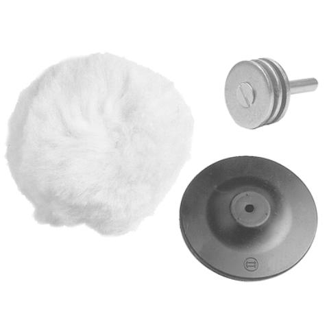 Kit De Polimento P/ Acoplar Em Furadeira - BOSCH