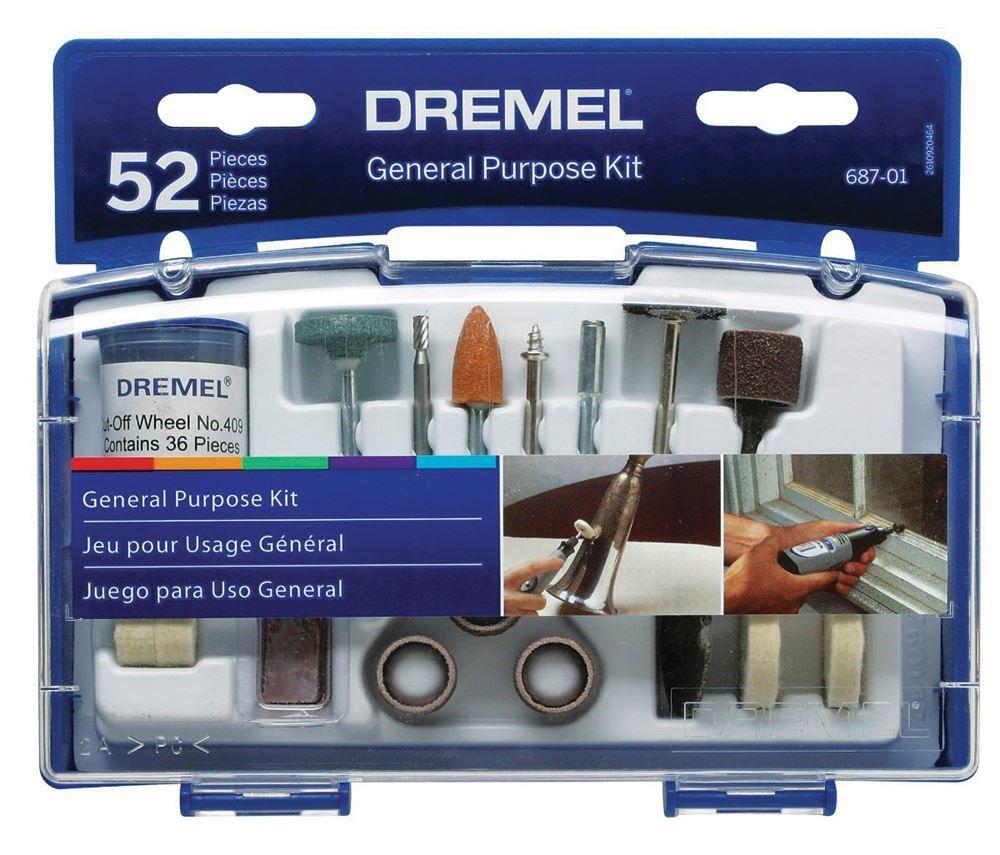 Kit para Uso Geral c/ 52 Peças 687 - DREMEL