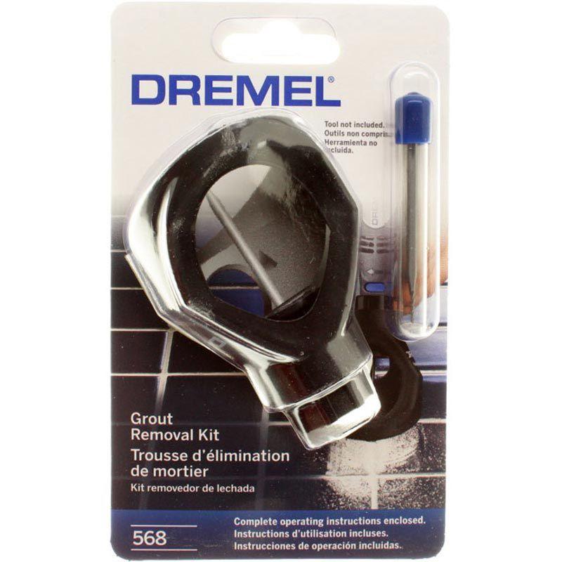 Kit Removedor de Rejunte 568 - DREMEL