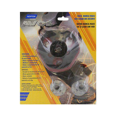 Kit Suporte Disco Avos 115x22mm - Norton