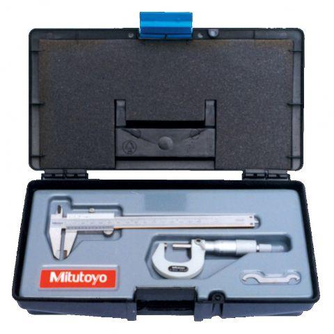 Kits de Instrumentos Paquímetro e Micrômetro Kit B-20 - MITUTOYO