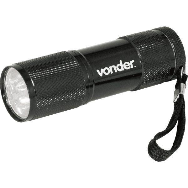 Lanterna Chaveiro em Alumínio 9 LEDS LLV 0009 - VONDER