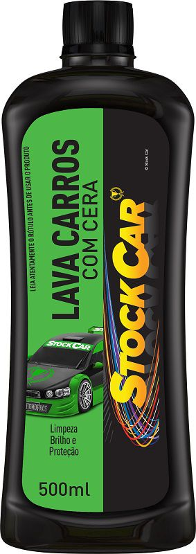 Lava Carros Com Cera 500ml - STOCKCAR