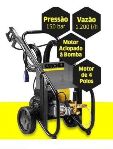 Lavadora de Alta Pressão HD 12/15 Trifásica 220V - KARCHER