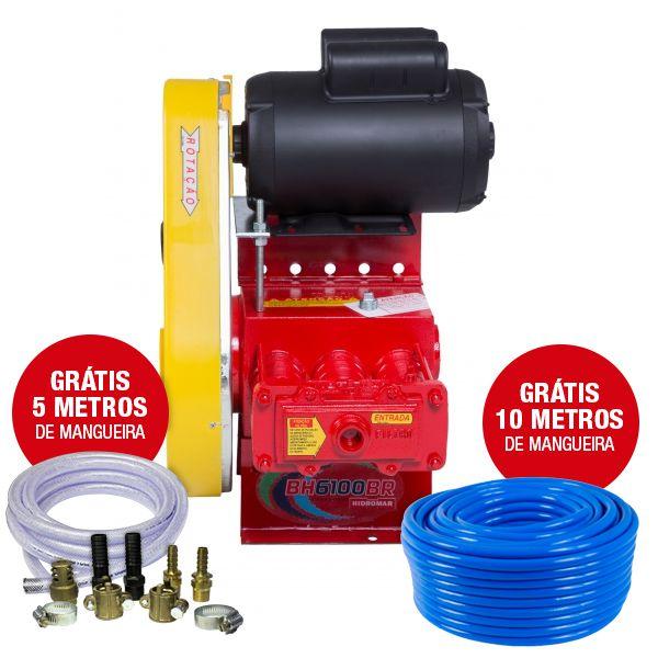 Lavadora Fixa C/ Motor Monofásico BH-6100 - Hidromar