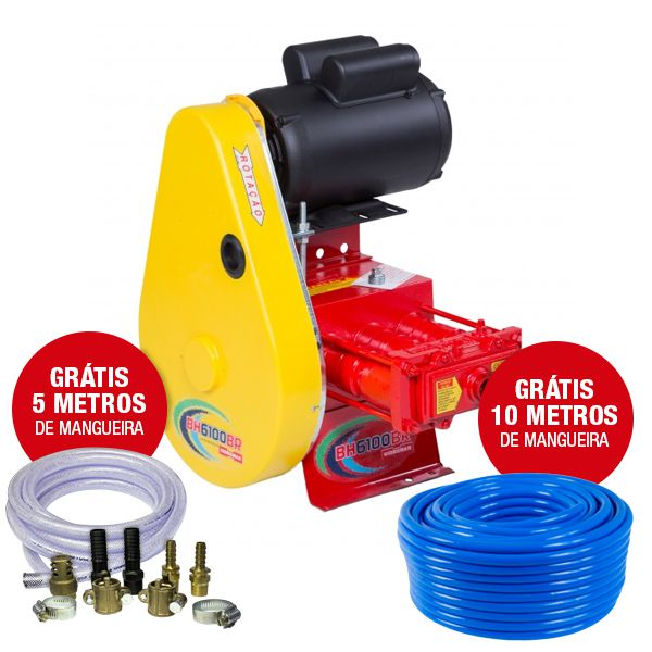Lavadora Fixa C/ Motor Trifásico BH-6100 - Hidromar