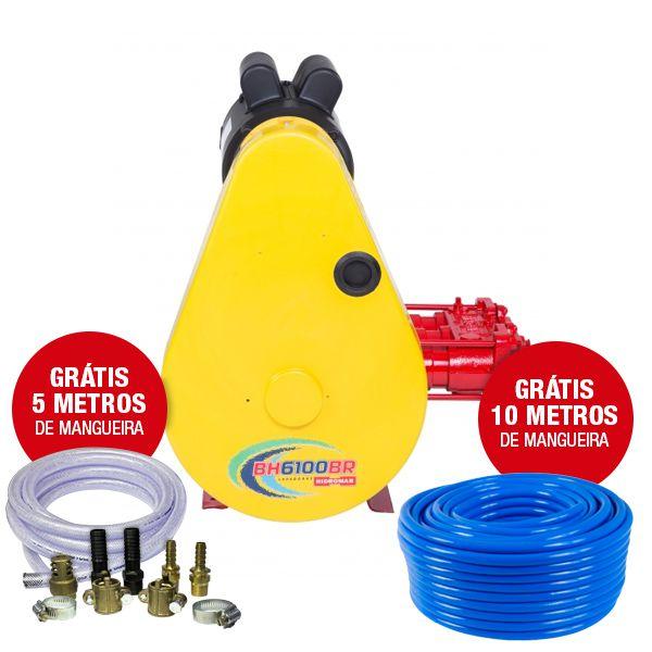 Lavadora Fixa S/ Motor BH-6100 - Hidromar
