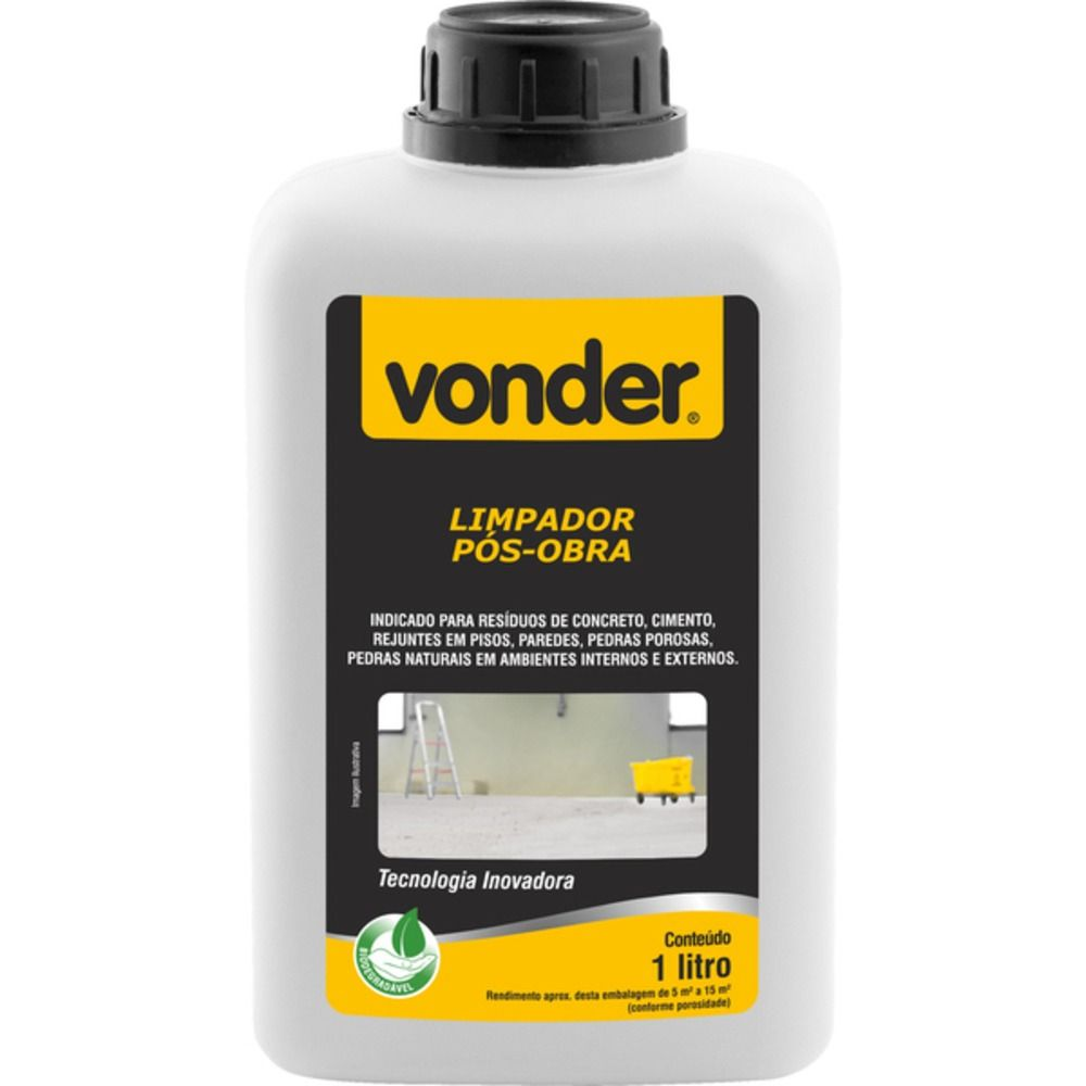 Limpador Pós Obra Biodegradável 1LT - VONDER