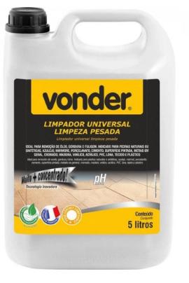 LIMPADOR UNIVERSAL DE LIMPEZA PESADA BIODEGRADÁVEL 5 LITROS