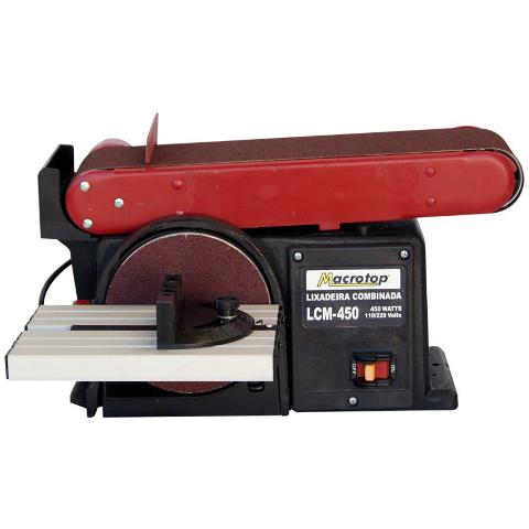 Lixadeira Combinada C/ Potência De 375W 220V LCM-450 - Lynus