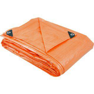 Lona Reforçada Plastico Laranja 3x3 6128033000 - VONDER