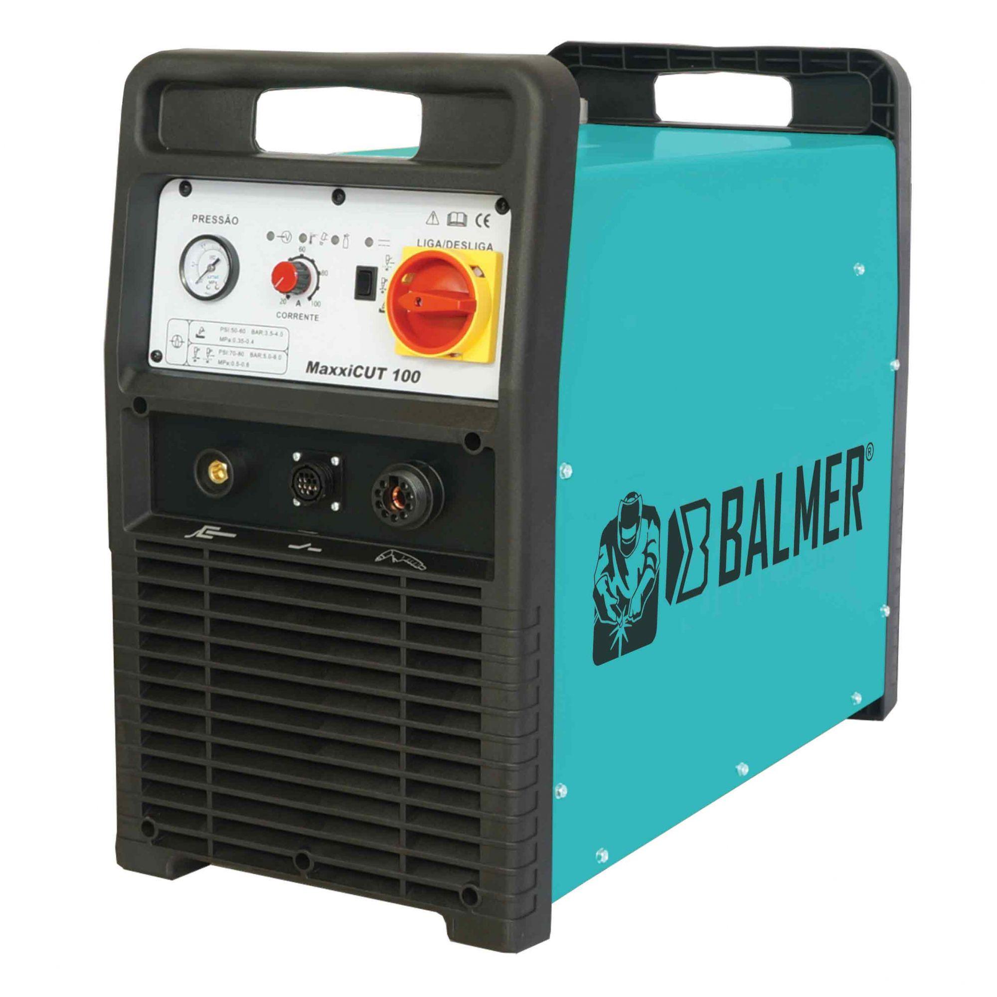Maquina de Corte Plasma Inver MAXXICUT100 Trif 380V – Balmer